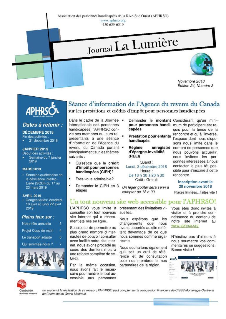Journal La Lumière