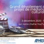 Dévoilement de l'œuvre réalisée dans le cadre du 40e anniversaire de l'APHRSO