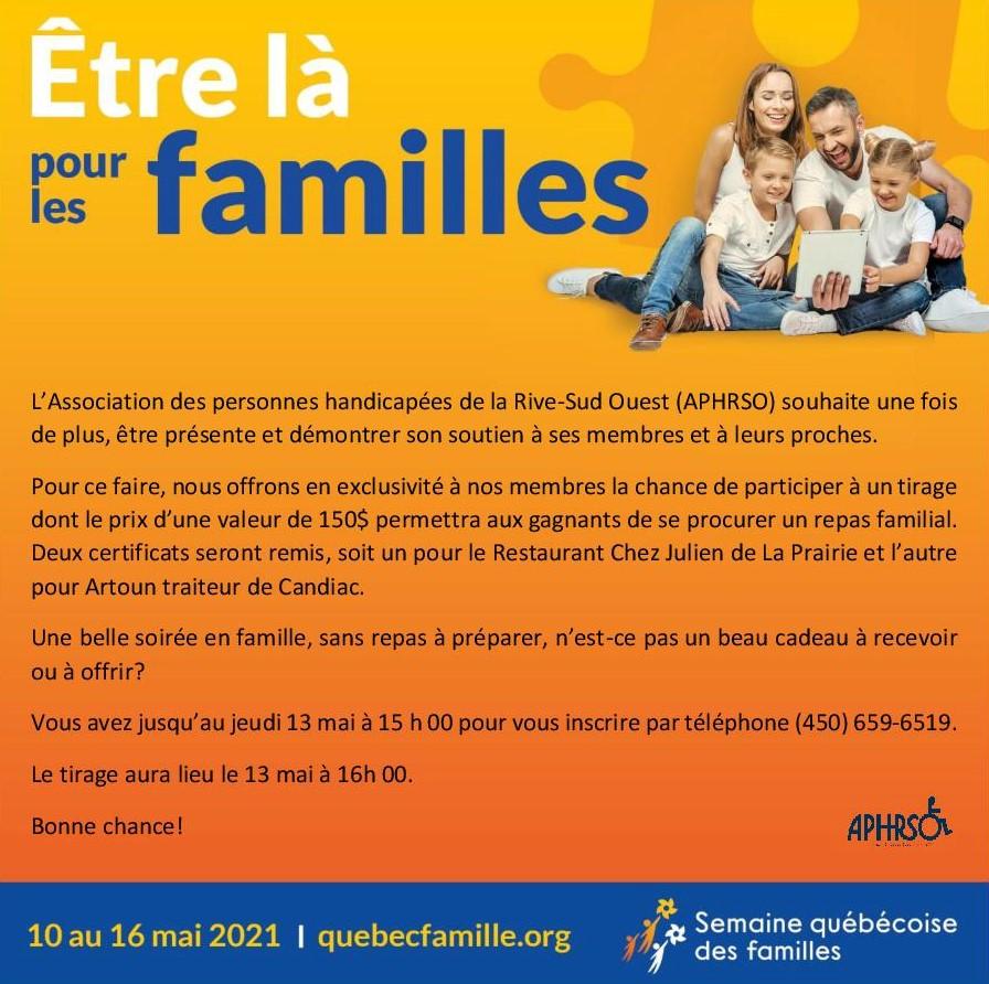 Semaine québécoise des familles